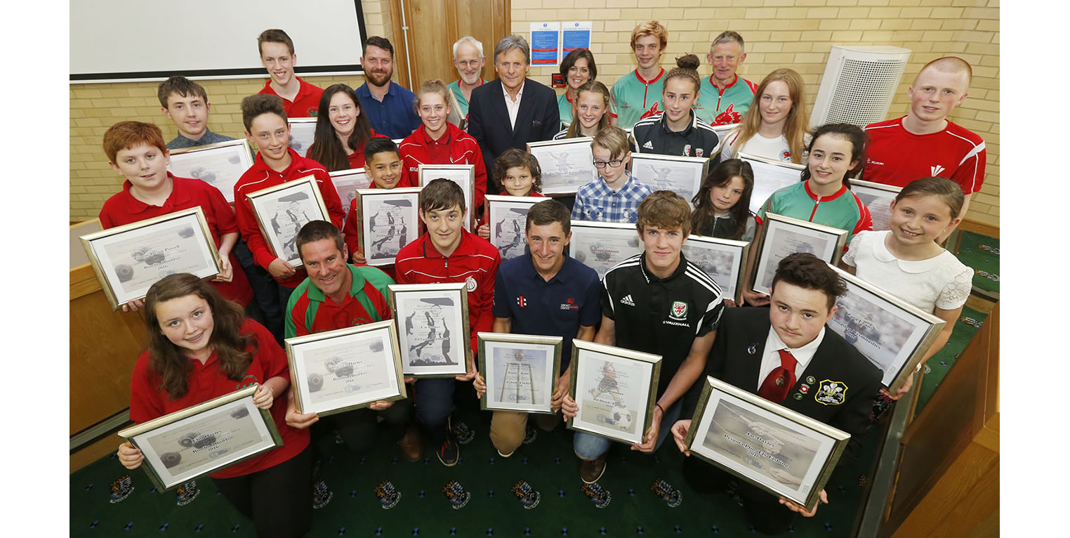 Ceredigion Sports Awards Internationals 2016