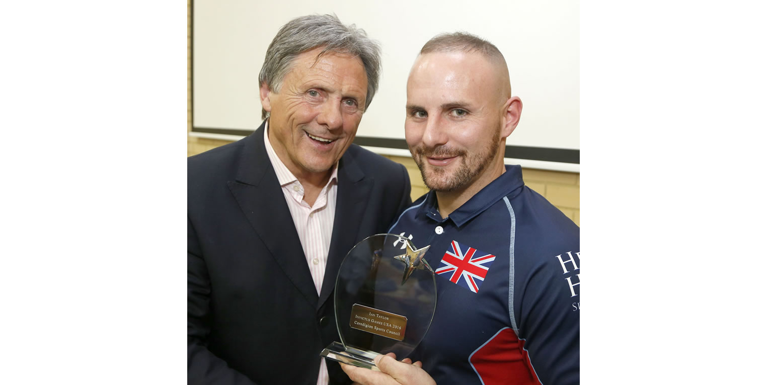 Ceredigion Sports Awards Invictus Games 2016